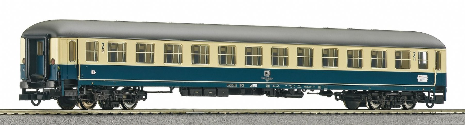 Roco 64509 DB Intercity Compartment Coach Bm235 2 Class