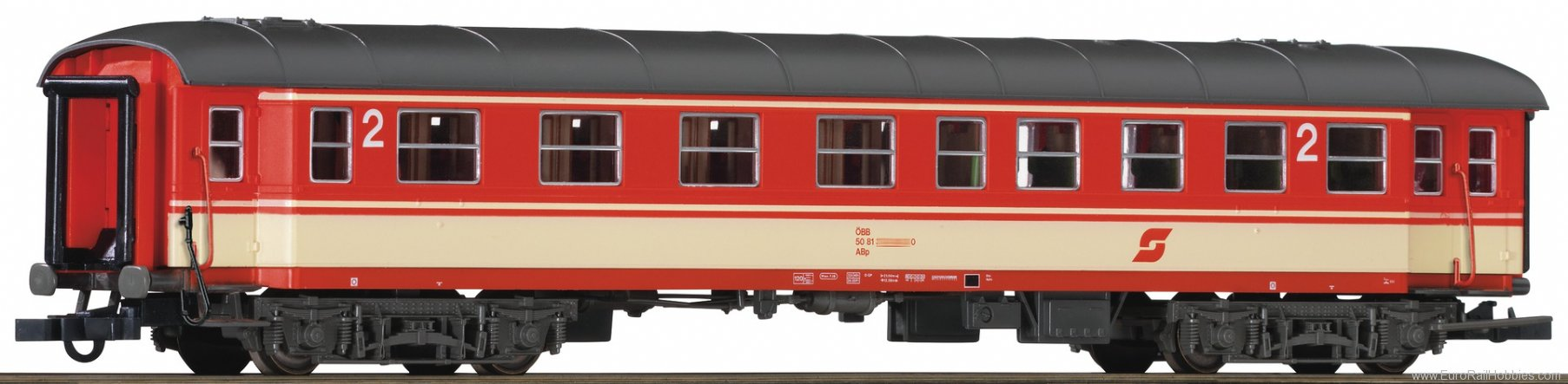 Roco 64655 2nd class fast train coach, OBB