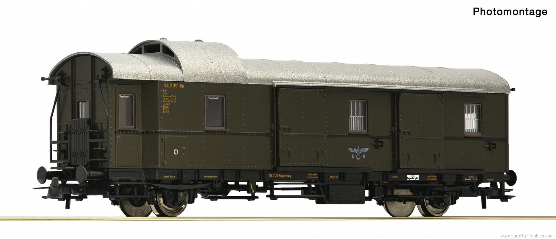 Roco 64728 Baggage wagon 'Donnerbüchse', DRB