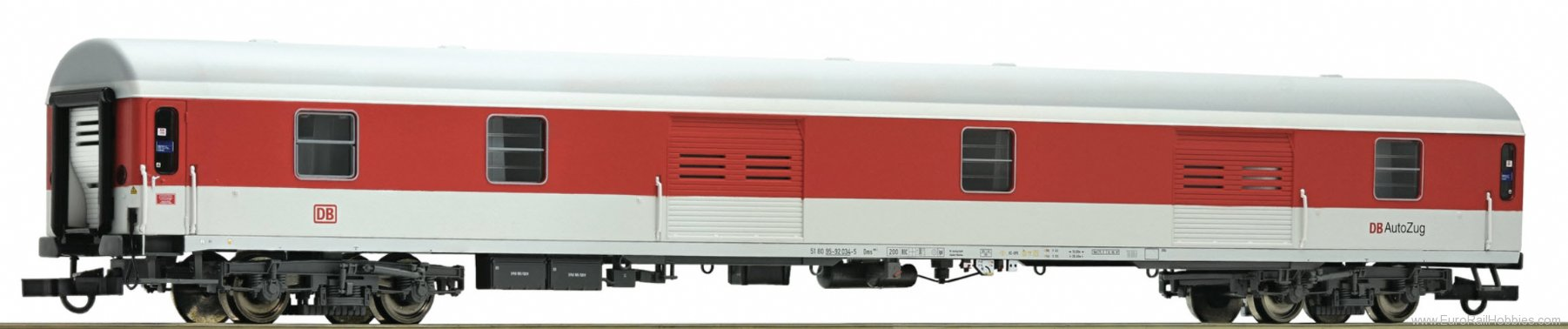 Roco 64914 Luggage car DB-Autozug, DB-AG