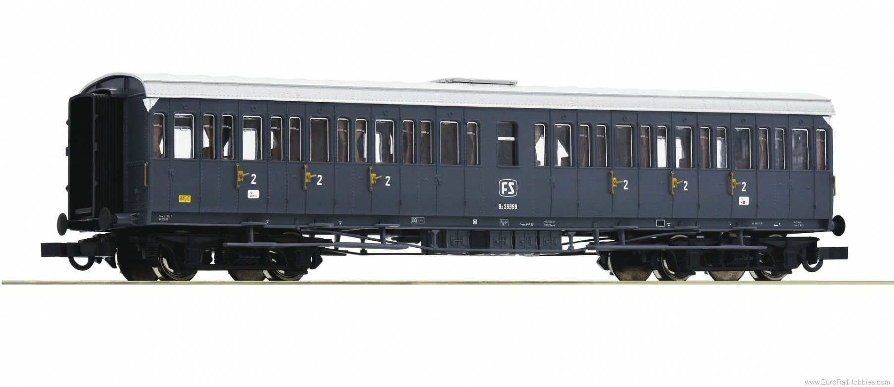 Roco 64984 2nd class passenger carriage, FS