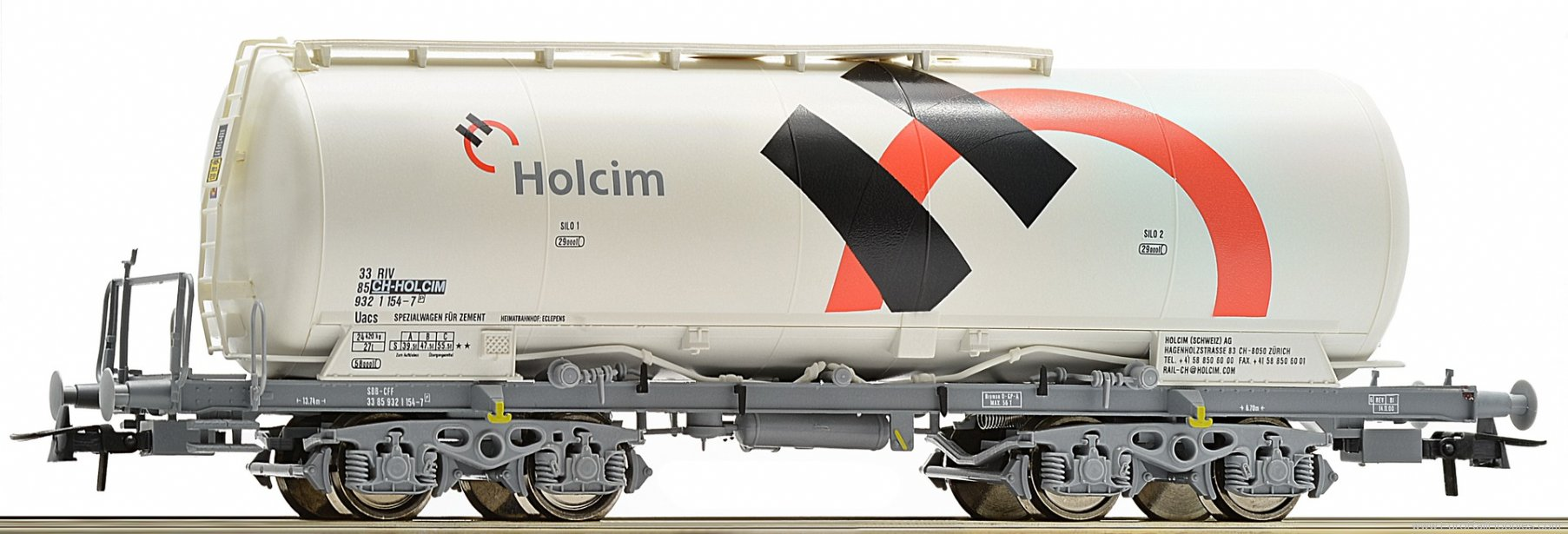 Roco 67449 Silo wagon, Holcim (Roco e-shop exclusive)