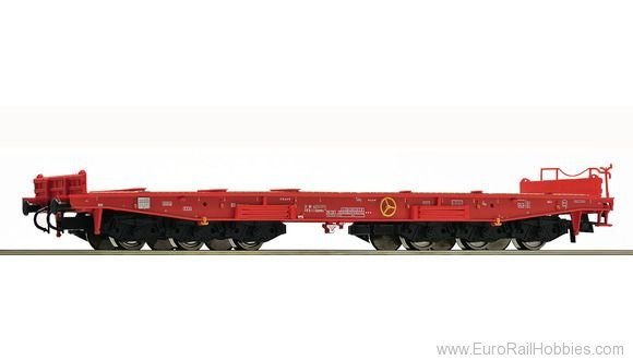 Roco 67589 Heavy duty flatcar of the DB AG
