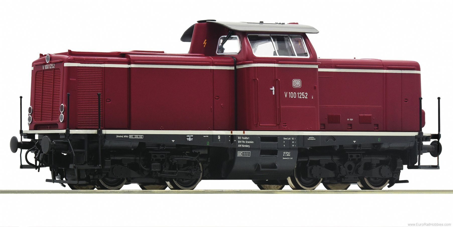 Roco 70980 DB cl V100 Diesel Locomotive DCC w/Sound
