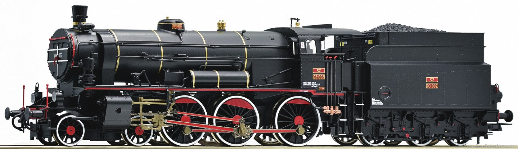 Roco 72119 Museum steam locomotive 03 002 of the SZ (Dig