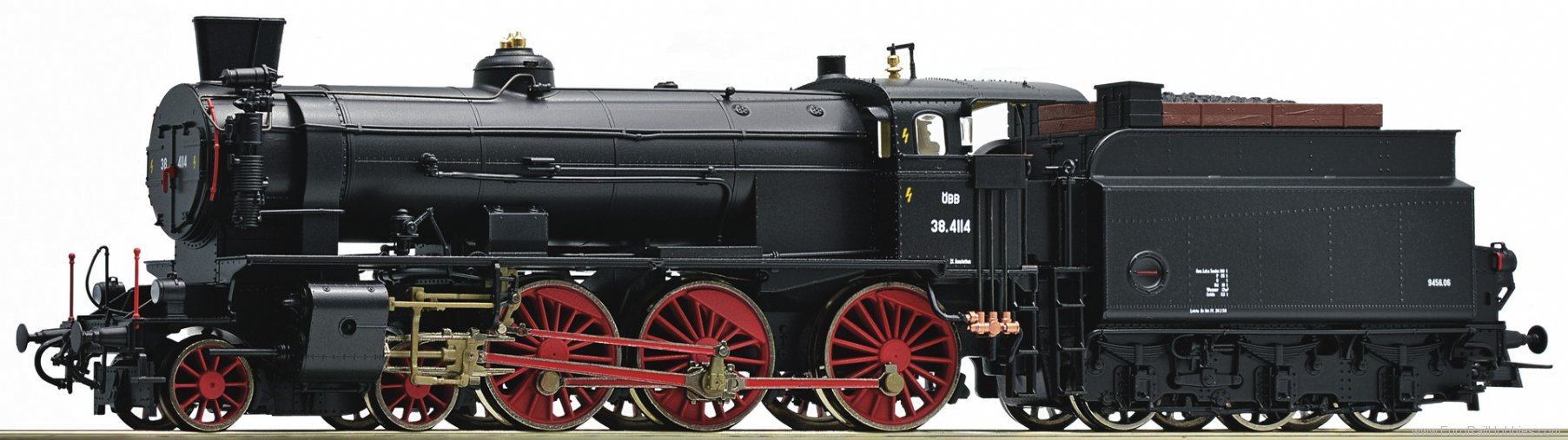 Roco 72120 Steam locomotive series 38, OBB