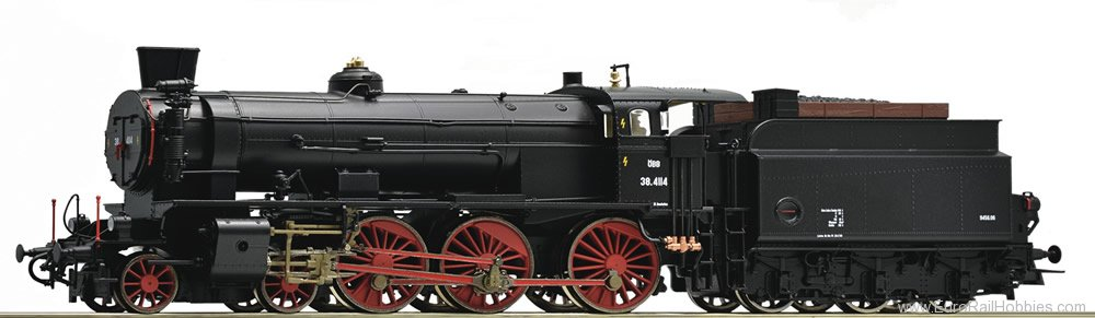 Roco 72121 Steam locomotive series 38, OBB (Digital Soun