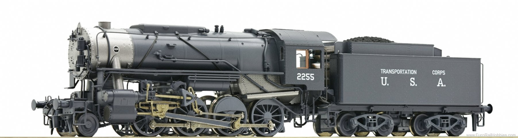 Roco 72151 Steam locomotive S 160, USTC (DCC w/Sound)