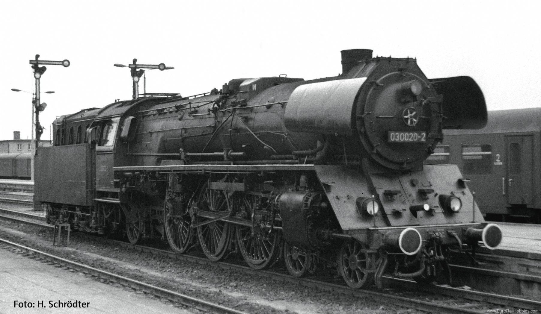 Roco 72183 Steam locomotive 03 0020, DR