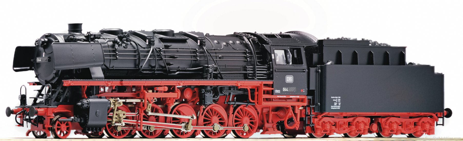 Roco 72236 Steam locomotive BR 044, DB (DCC w/Sound)