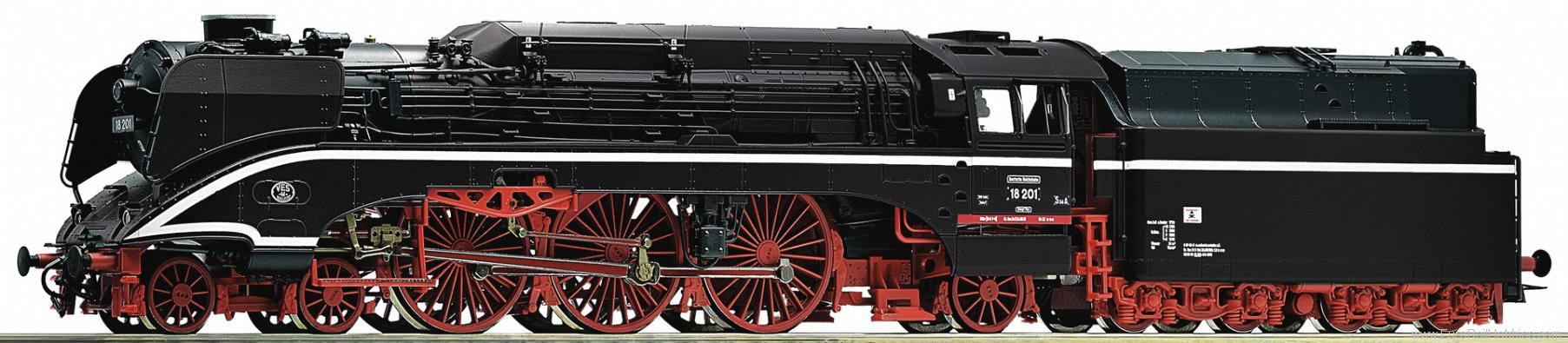 Roco 72246 Steam locomotive 18 201, DR (Factory Sold Out