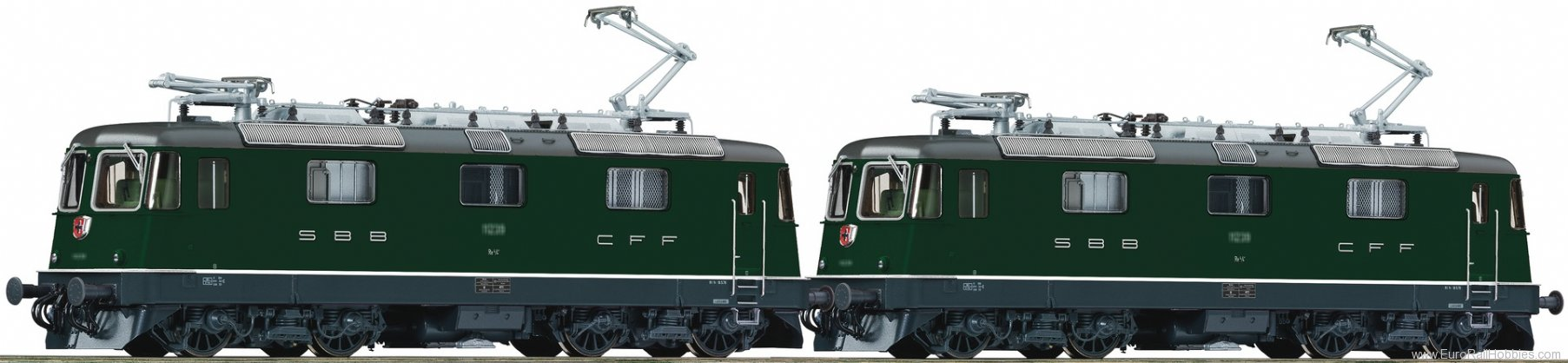 Roco 72419 Double traction electric locomotive Re 4/4, S
