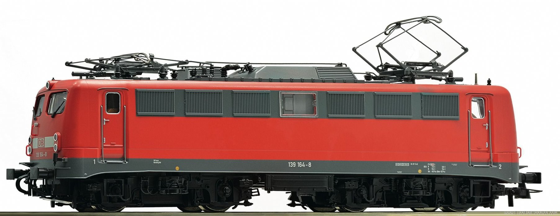 Roco 72557 Electric Locomotive 139 164-8 of the DB AG (D