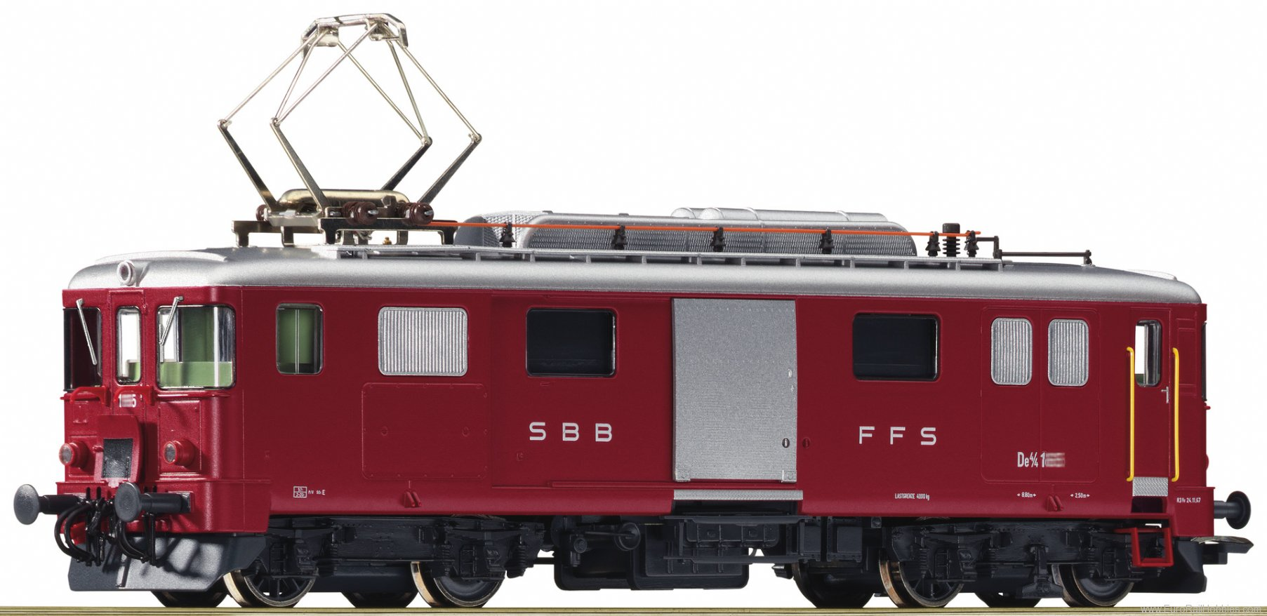 Roco 72656 Electric baggage railcar De4/4, SBB