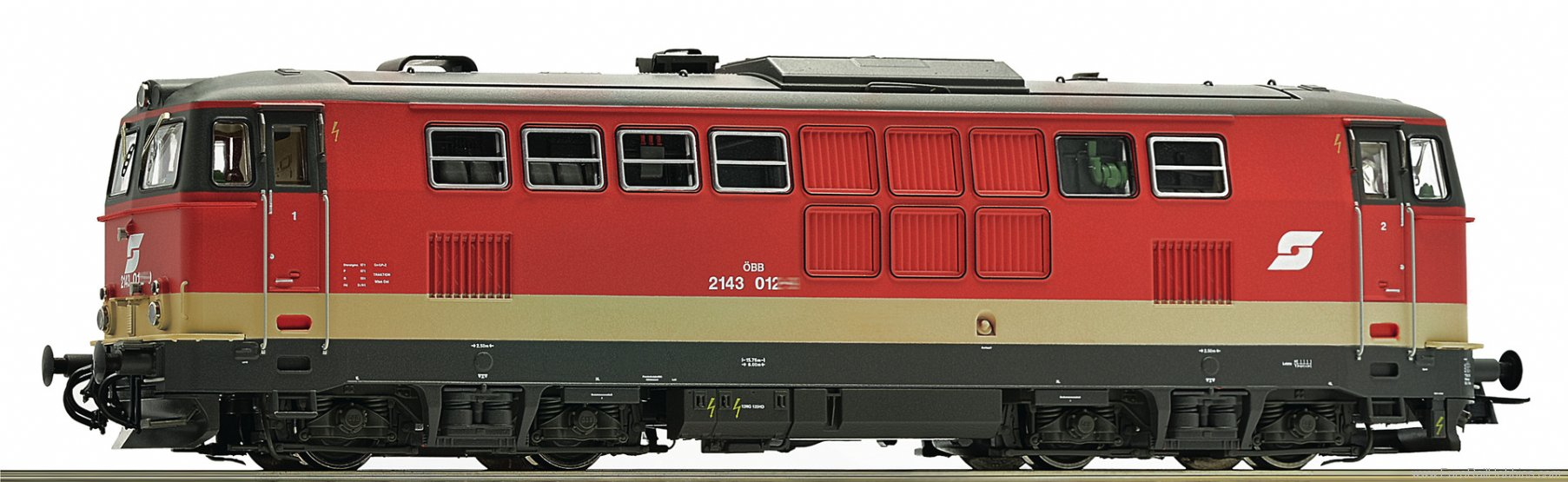 Roco 72721 OBB 2143 008 Diesel Locomotive (Digital Sound