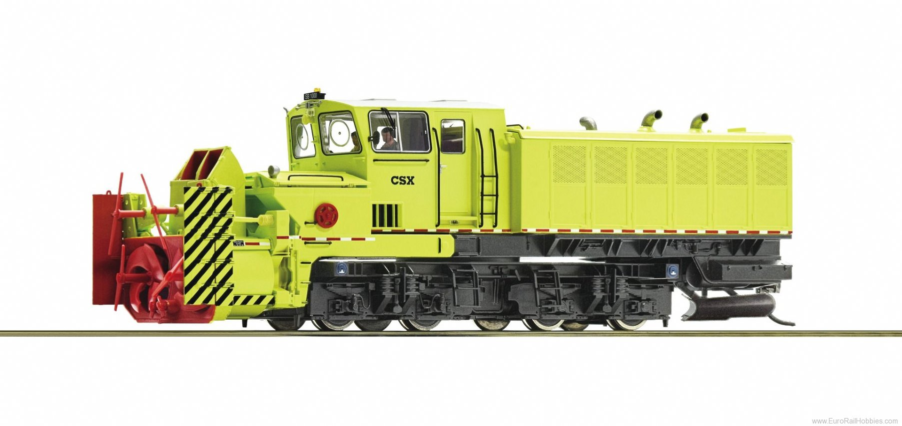Roco 72803 Beilhack rotary snow blower, CSX (DCC w/Sound