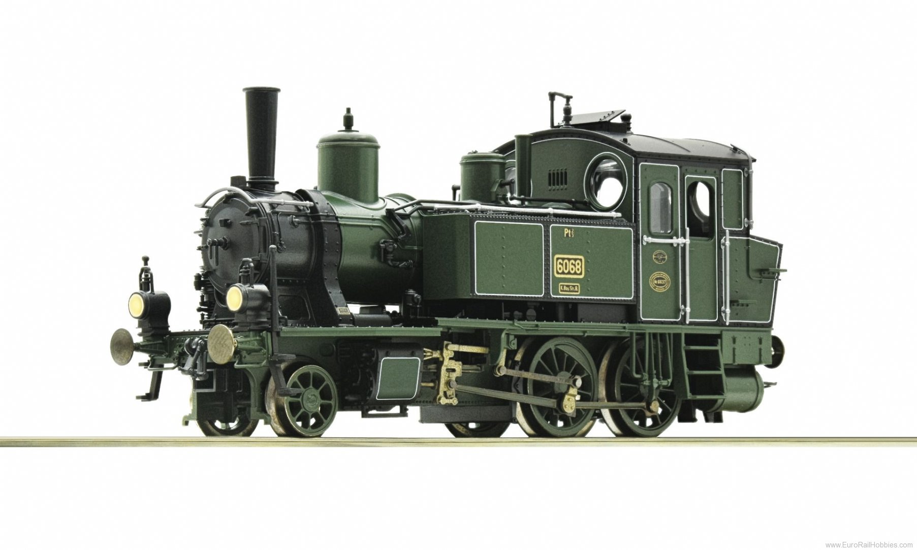 Roco 73053 Steam locomotive type Pt 2/3, K.Bay.Sts.B (DC