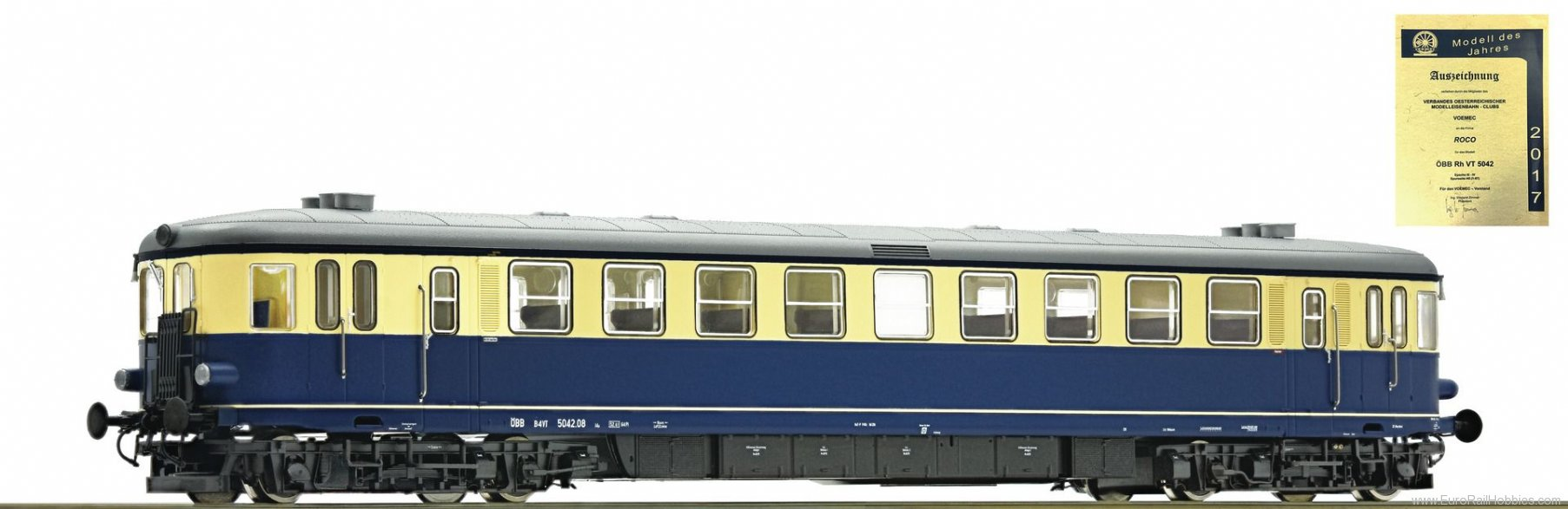 Roco 73143 Diesel railcar 5042.08, OBB (Digital)