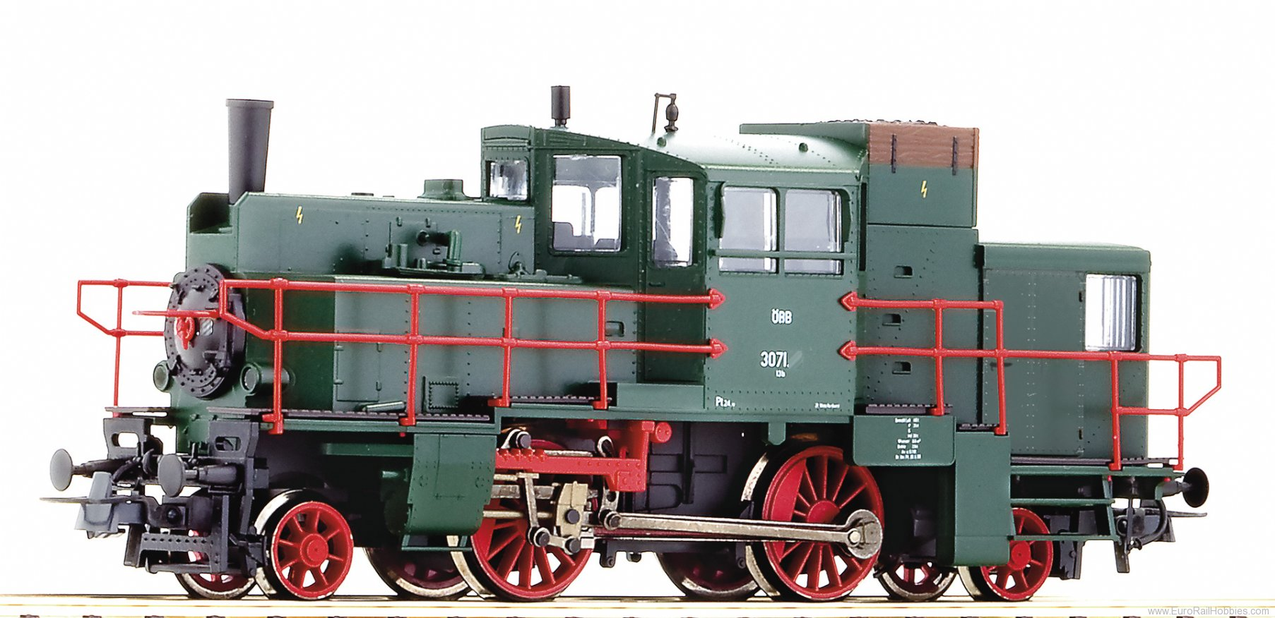 Roco 73211 Steamrail car serie 3071, OBB (Digital Sound)