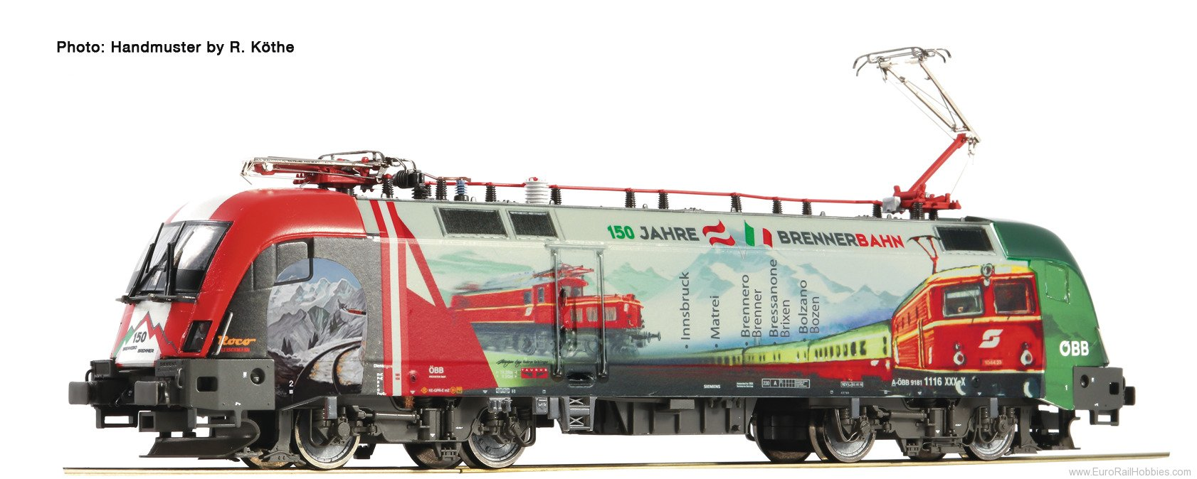 Roco 73240 Roco OBB Austrian Electric Locomotive (150 ye