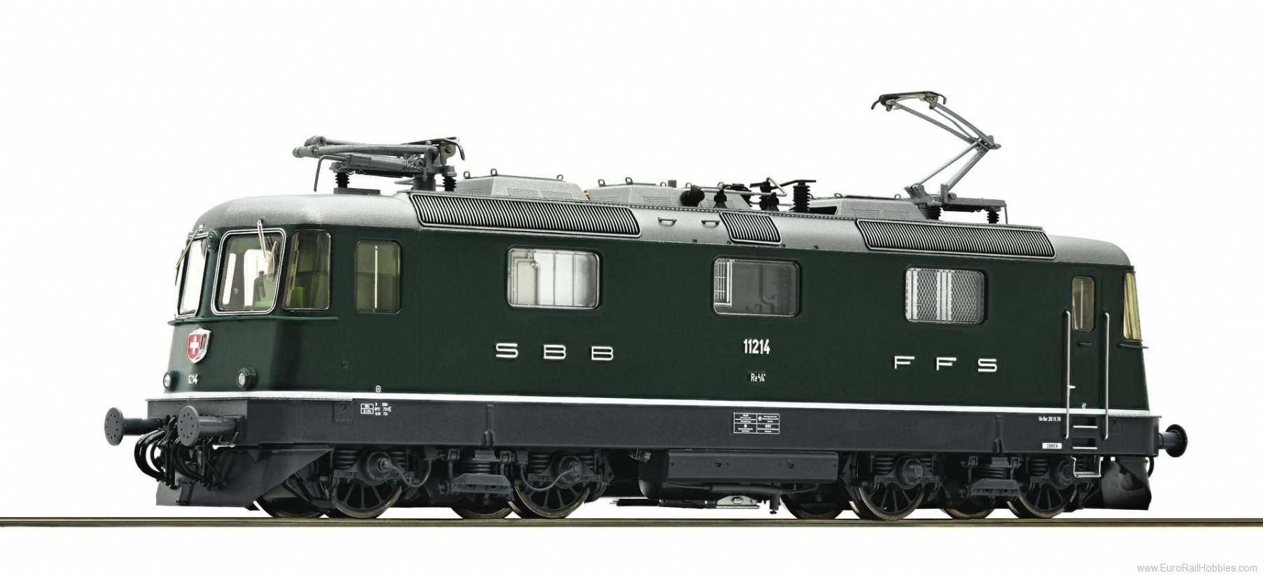 Roco 73255 SBB Re 4/4 Electric Locomotive (Digital Sound