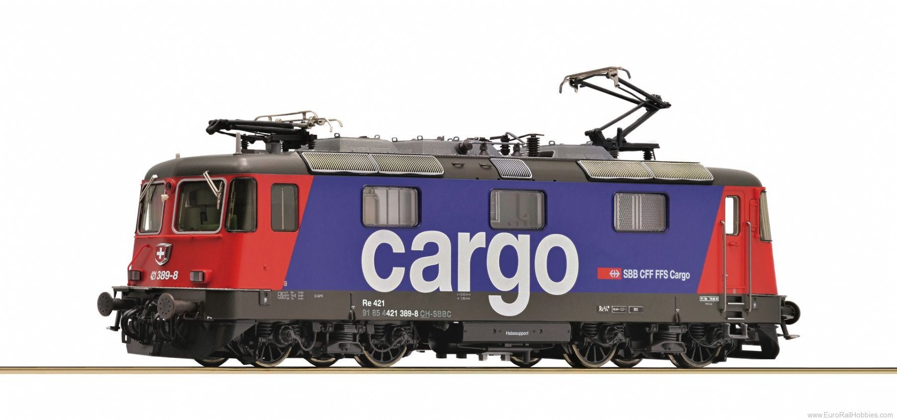 Roco 73257 Electric locomotive 421 389-8, SBB Cargo (DCC