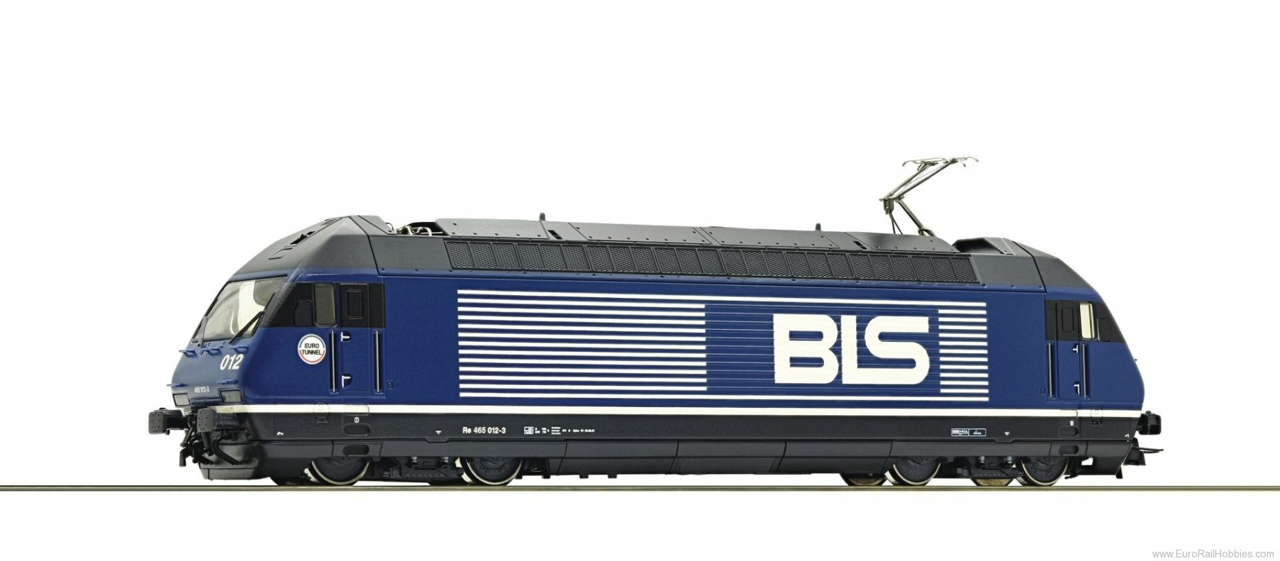 Roco 73288 BLS Re 465 Electric Locomotive (DCC w/Sound)