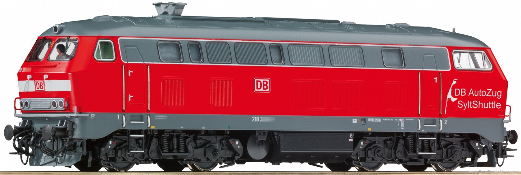 Roco 73729 Diesel Locomotive BR 218, DB AG (Digital Soun