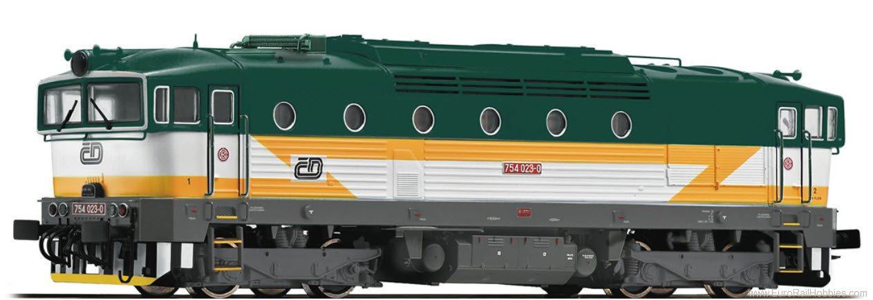 Roco 73811 Diesel locomotive 754 023, CSD (DCC w/Sound)
