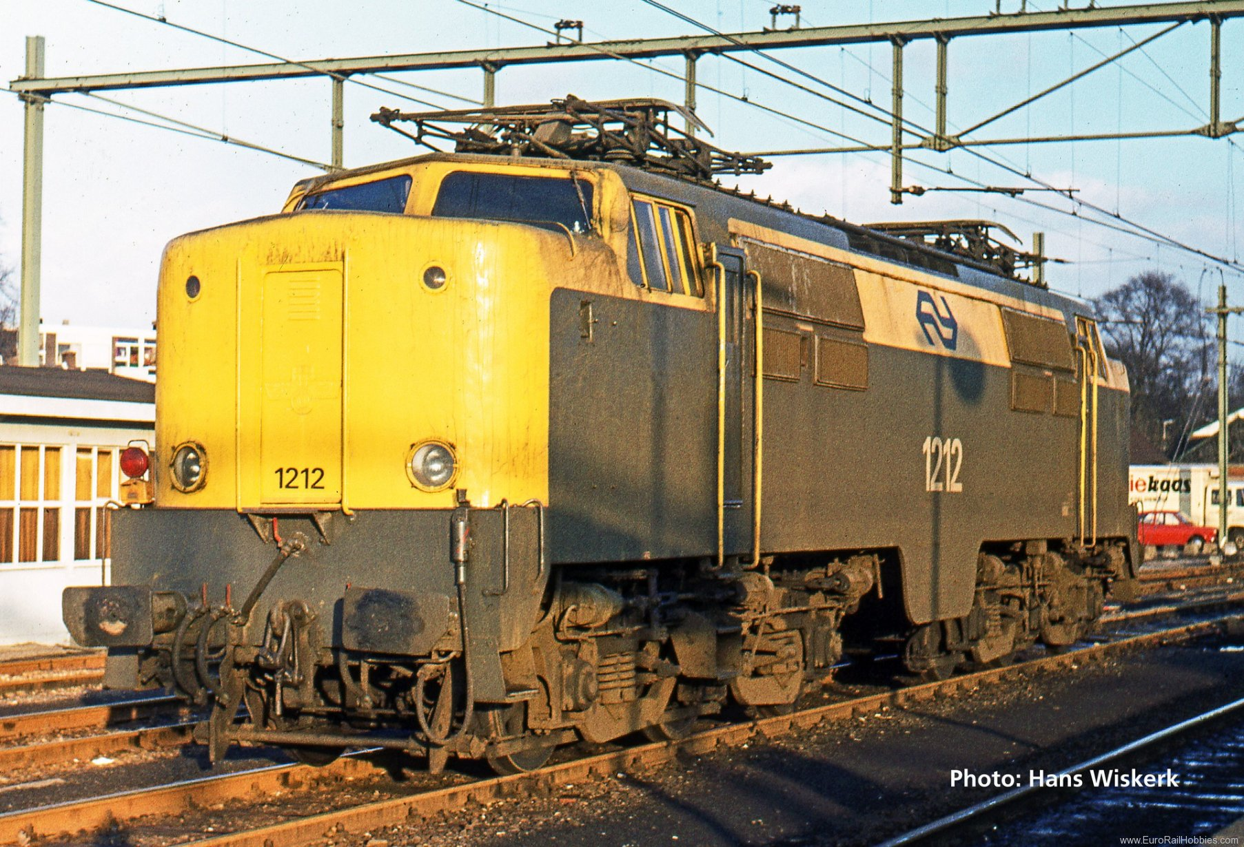 Roco 73831 Electric locomotive 1212, NS (Digital Sound)