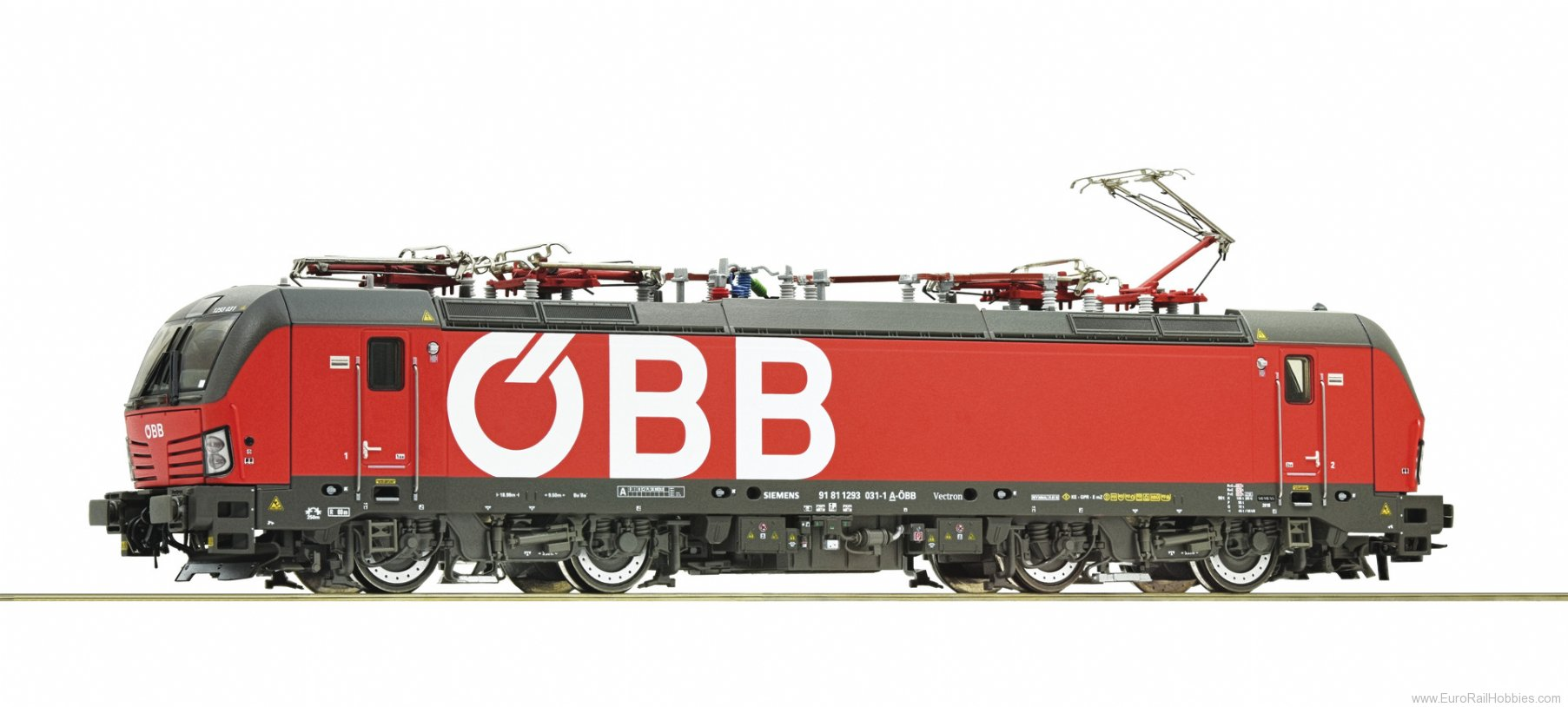 Roco 73954 Electric locomotive class 1293, OBB (Digital