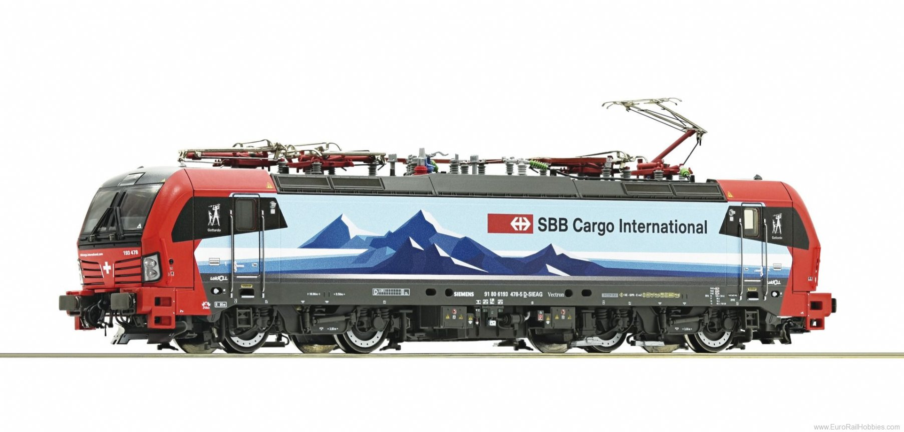 Roco 73956 SBB 193 478 Electric Locomotive (Digital Soun
