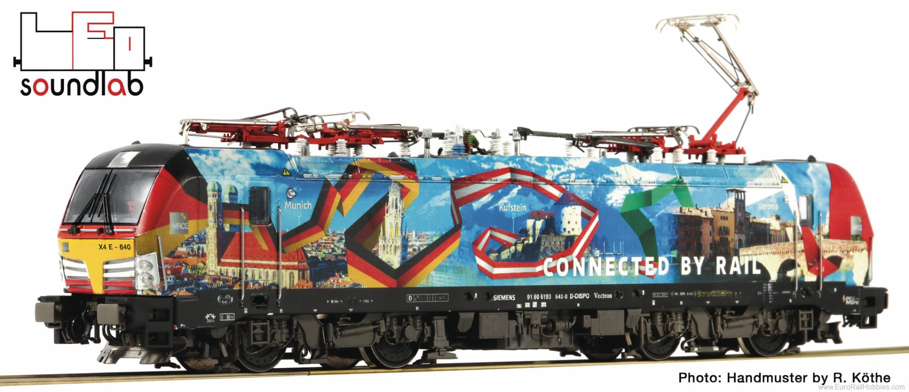 Roco 73979 Electric locomotive 193 640, MRCE (Digital So