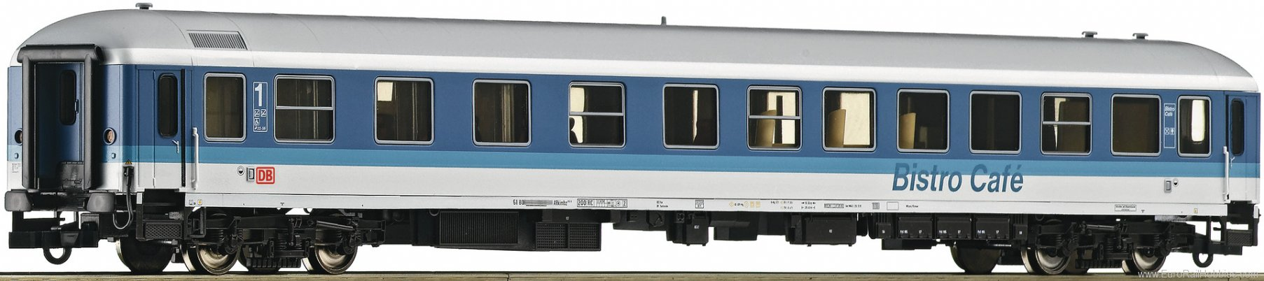 Roco 74304 1st class express train passenger coach with