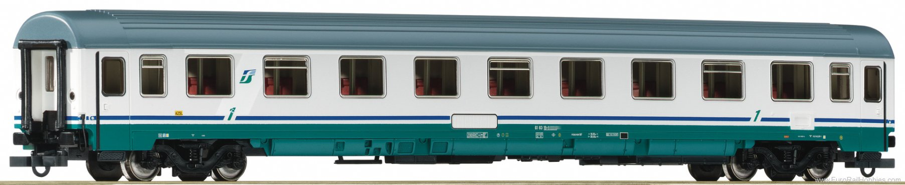 Roco 74330 1st class passenger carriage, FS