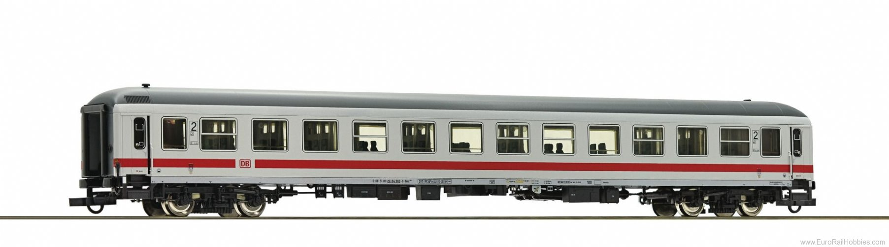 Roco 74364 2nd class IC compartment coach, DB AG