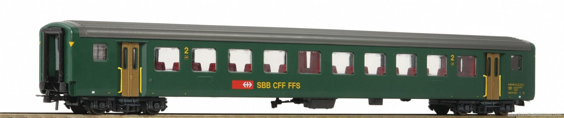 Roco 74571 2nd class fast train coach EW II, SBB