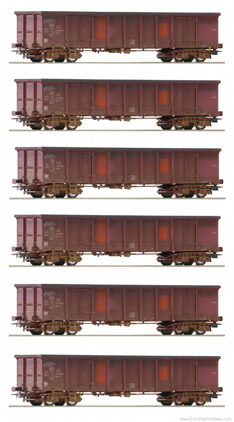 Roco 75975 Open Goods Wagon Display gealtert, DB AG