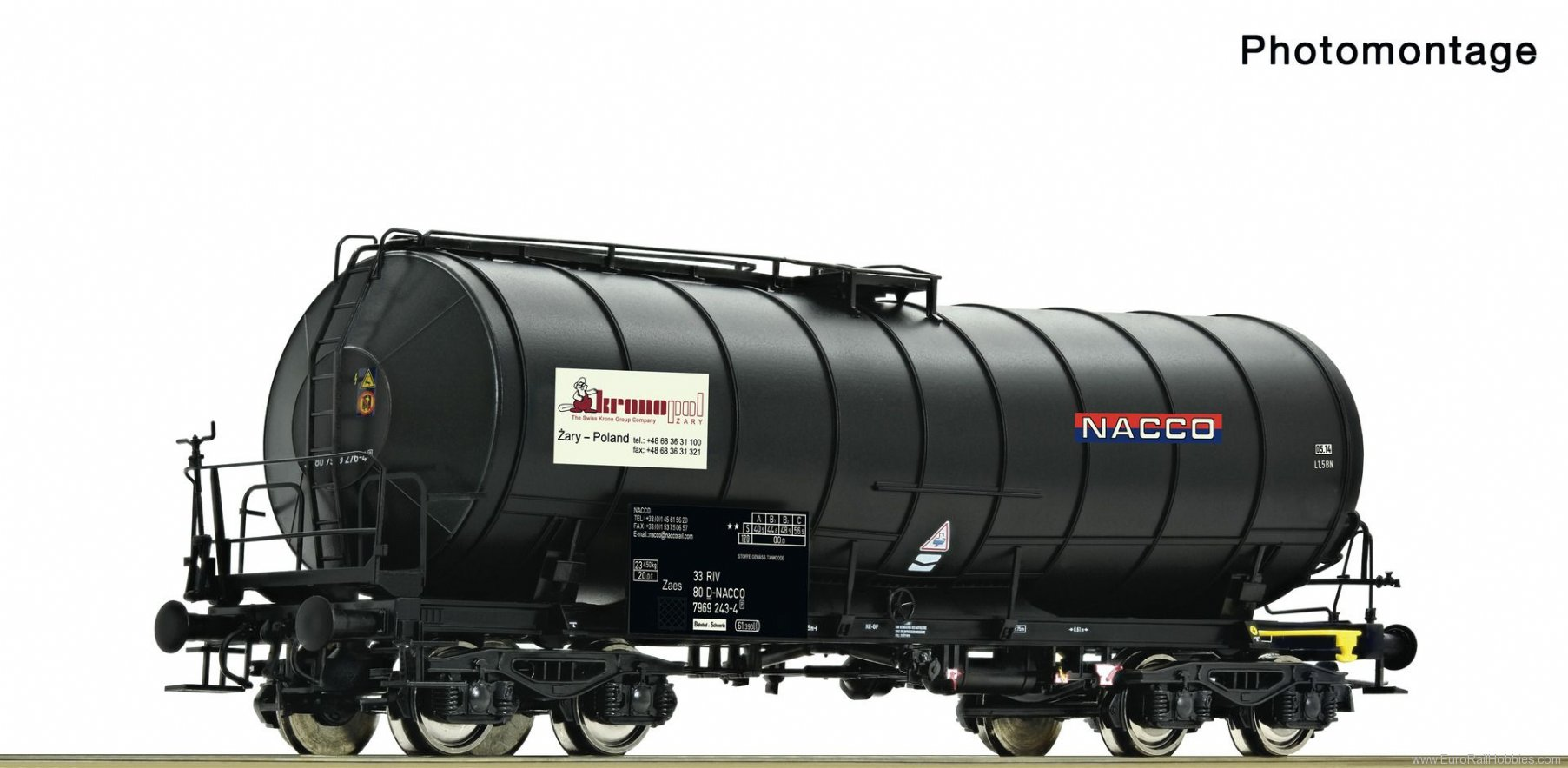 Roco 76538 Slurry wagon, PKP