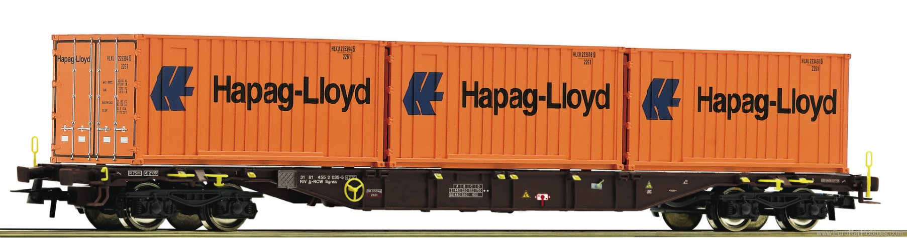 Roco 76930 Container carrier wagon, RCW