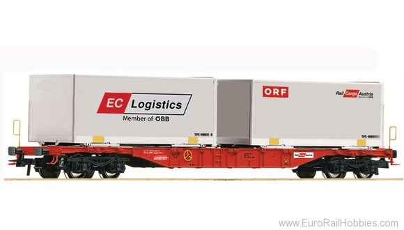 Roco 76933 Container carrier wagon, OBB