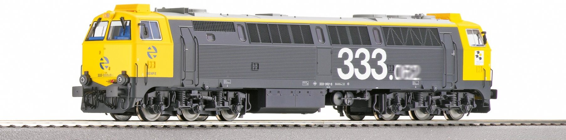 Roco 78976 Diesel locomotive D 333, RENFE (AC Digital So