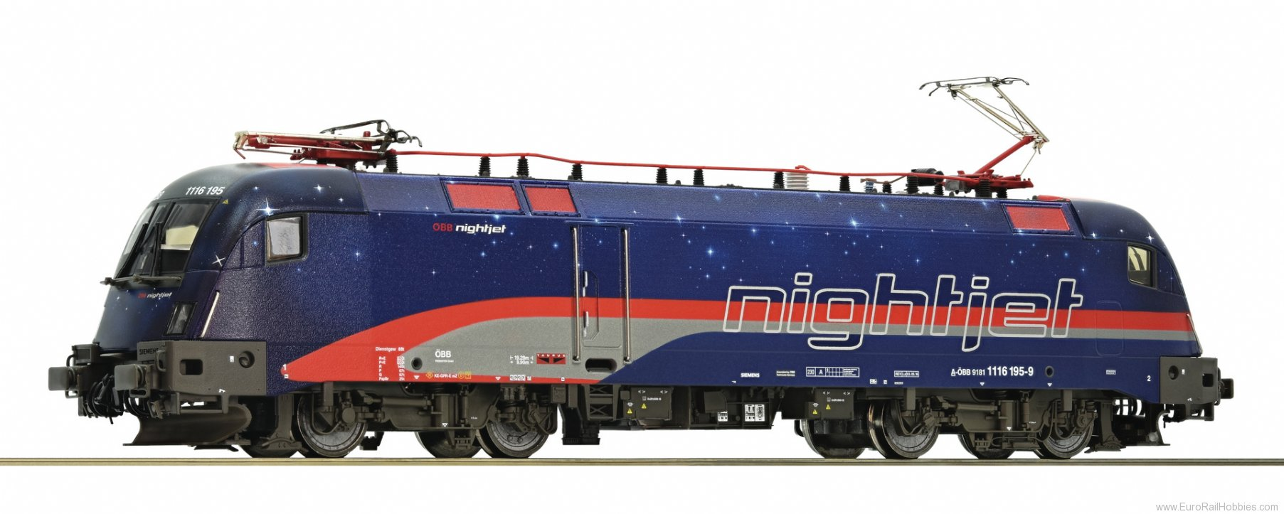 Roco 79242 Electric locomotive 1116 195, OBB (AC Digital