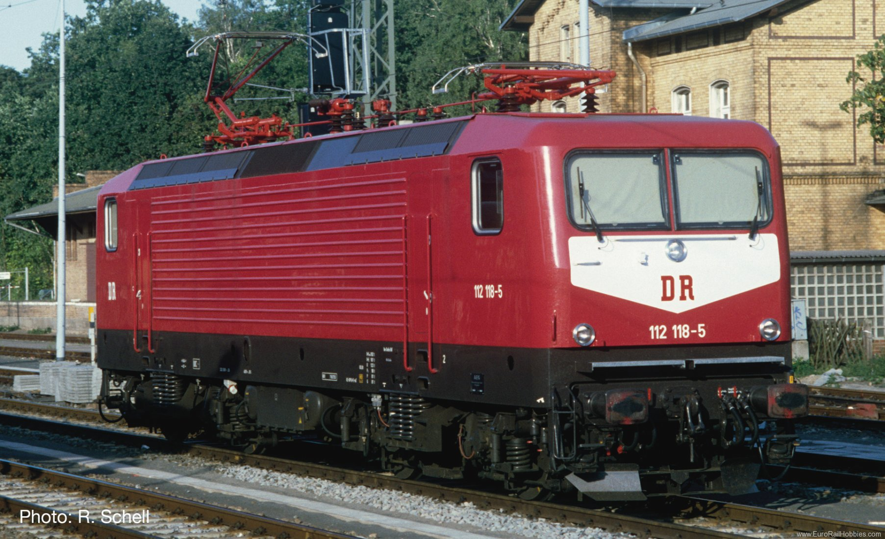 Roco 79333 Electric locomotive BR 112, DR (AC Digital So