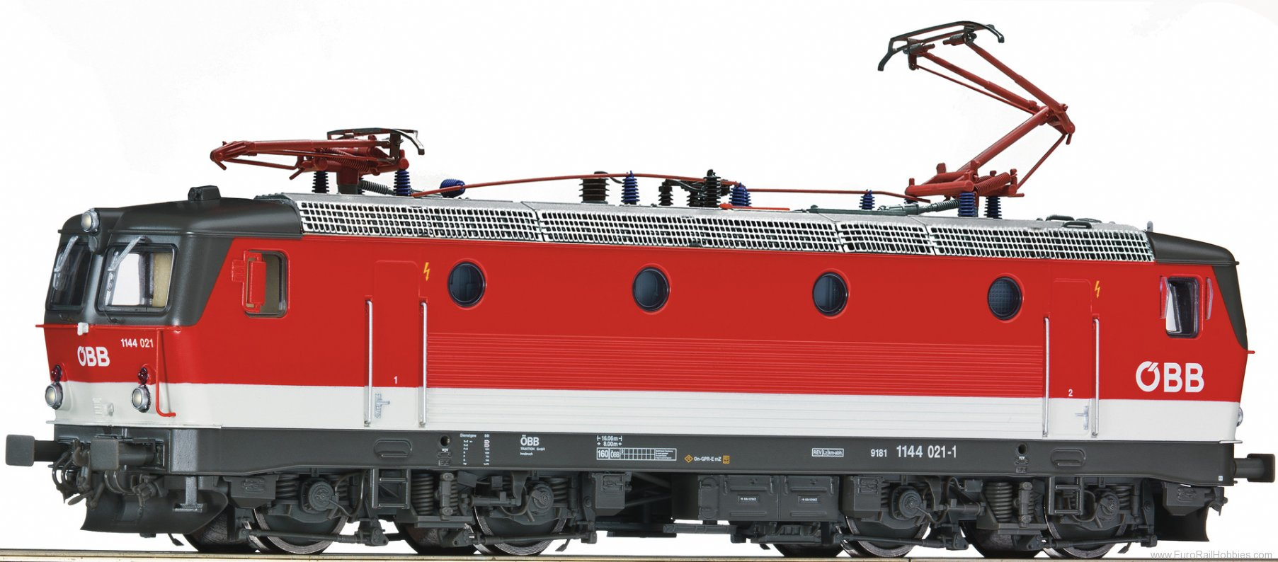 Roco 79555 Electric locomotive 1144 021, OBB (AC Digital