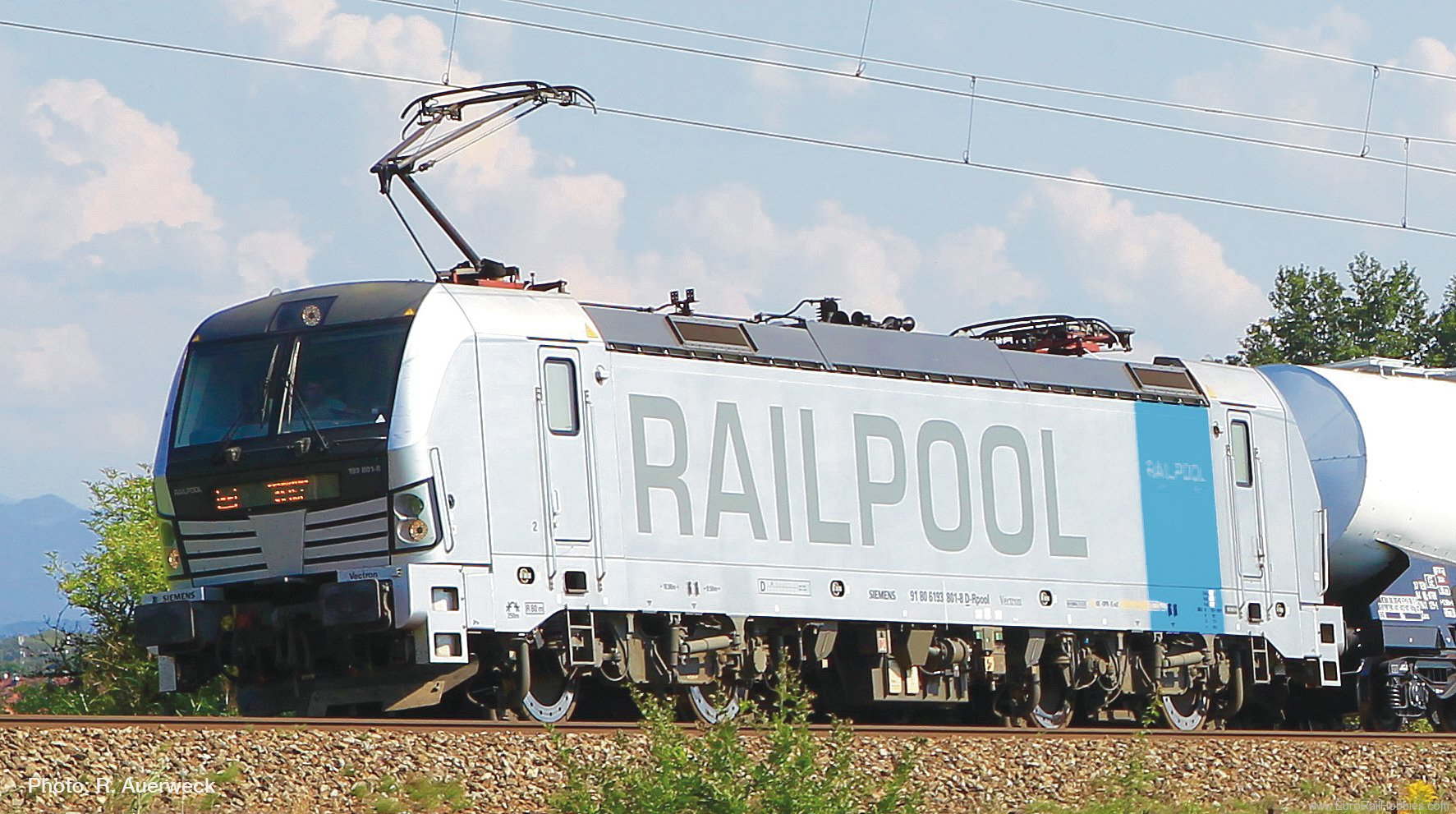 Roco 79916 Electric locomotive BR 193, Railpool (AC Digi