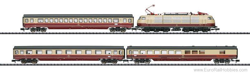 Minitrix 11628 'Rheingold TEE 7' Train Set