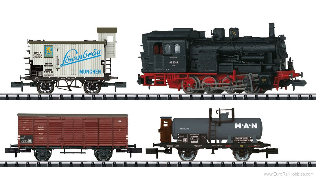 Minitrix 11631 DRG 'Freight Transport' Train Set w/DCC Decod