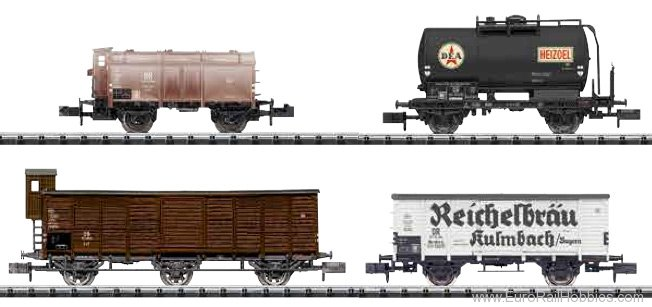 Minitrix 15418 DB Era III Freight Car Set (MHI Exclusive # 3