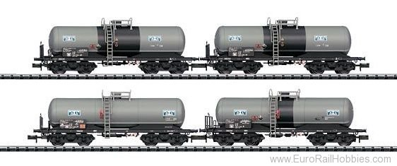 Minitrix 15419 Sulfuric Acid Tank Car Car Set